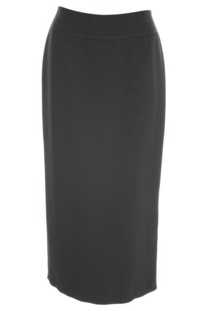 Busy Womens Black Long Skirt