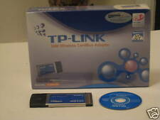 TP-Link Wireless-802.11g//b 54Mbps Laptop PCMCIA//new box