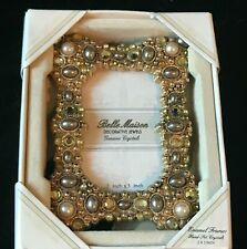 Belle Maison Decorative Jewels Picture Frame 2 x 3 Emerald New in Box