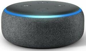 Amazon-Echo-Dot-3rd-Gen-Smart-Speaker-w-Alexa-Charcoal-Gray-US-Ships-Free