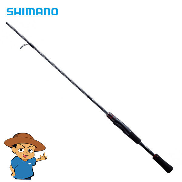 Shimano ZODIAS 264UL-S Ultra Light 6'4  freshwater bass fishing spinning rod