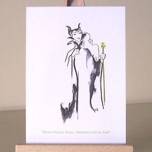 Art-Deco-Villains-ACEO-Sleeping-Beauty-WDCC-Maleficent