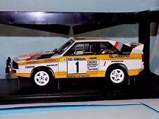 AUDI SPORT-QUATTRO RALLY 1985 MONTE CARLO RALLY #1 BLOMQVIST AUTOART 88501 1:18