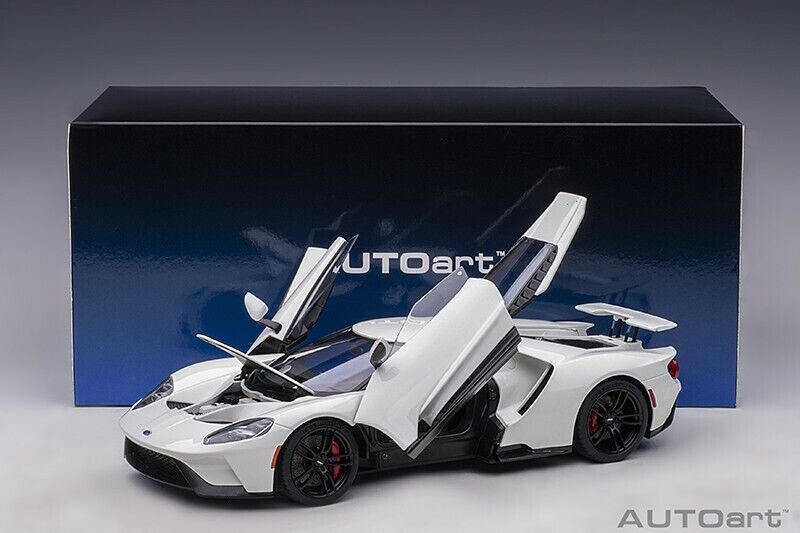 Autoart ford gt 2017 the snow queen  in blanc 1 18 scale nouveau release  bas prix