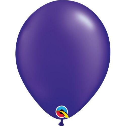 """25 or 50 Qualatex 5/"""" or 11/"""" Latex Decorator Balloons Pack of 5,10"""