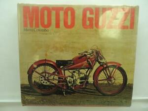 New-Italian-Moto-Guzzi-Book-By-Mario-Colombo-1st-Edition-Book-B189