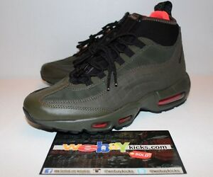 nike air max 95 sneakerboot olive