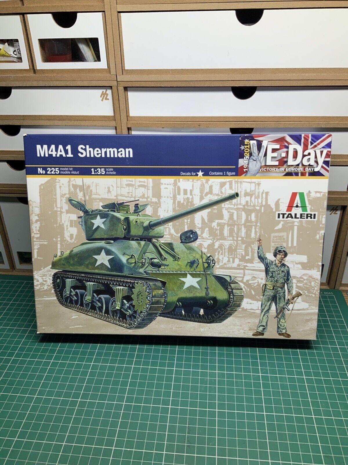 M4 Sherman Kit 1:35 Italeri IT0225 Modellbau