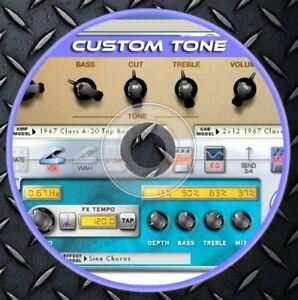 Details about 145 281 Patches POD XT Pro Live X3 2 0 Bass PODxt Live Custom  Tone preset Line6