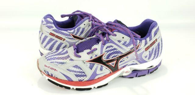 e23c30030004 Mizuno Wave Elixir 7 Women's Running Training Sneakers Size 8.5 Purple Zebra