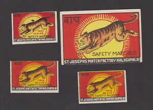 Ancienne-etiquette-allumettes-Inde-BN78566-Tigre