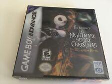 Tim Burton's The Nightmare Before Christmas: The Pumpkin King (Nintendo Game Boy Advance, 2005)