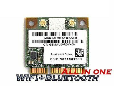 652279-001 2x2 802.11b//g//n Wireless N HP 615939-001 BlueTooth 3.0 Combo Card