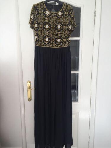 VIRGOS LOUNGE MAXI DRESS WEDDING PARTY UK 10 14