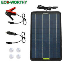 Eco worthy 12 V 10 W Portable Power Solar Panel with
