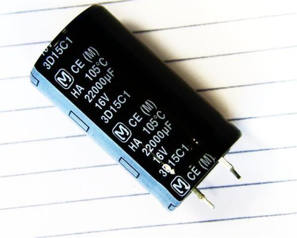 2 X Panasonic Ecec 1ca223cj Condensateur électrolytique à L'aluminium 22000uf 16 V +105 ° C Pour Aider à DigéRer Les Aliments Gras