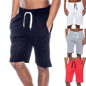 Men-039-s-Summer-Casual-Workout-Tech-Fleece-Shorts-Baggy-Sport-Jogging-Beach-Pants