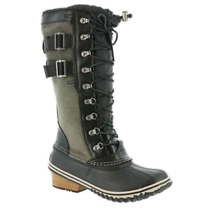 Sorel Conquest Carly II Black//Kettle Winter Snow Boot Womens Size 6