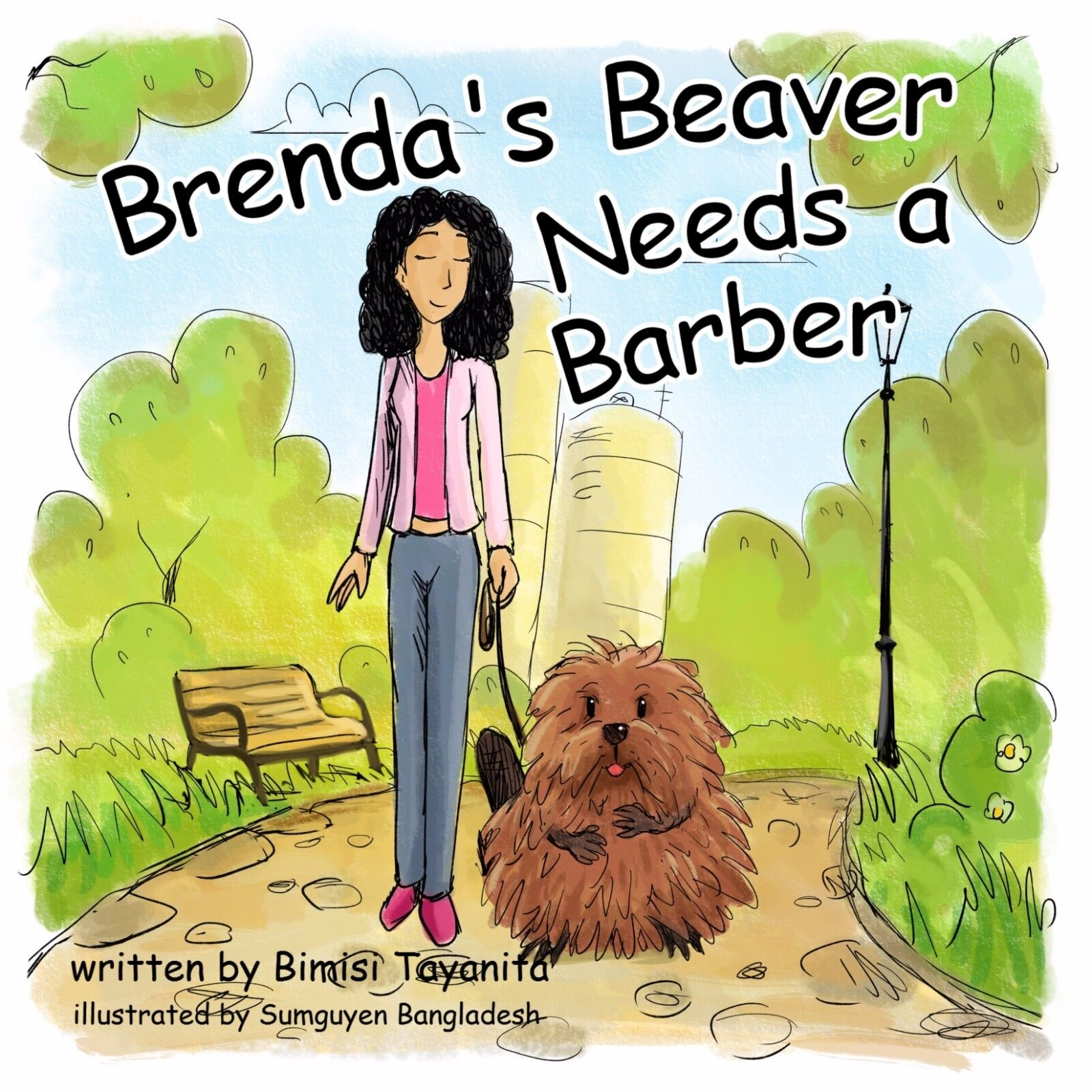Image 1 - Brenda's Beaver Needs a Barber                 HARD COVER--Physical Book