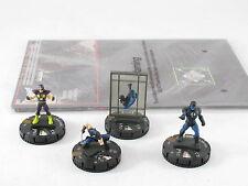 Heroclix Galatic Guardians OP Kit Spider-man 104 Wolverine 103 No Card Iron Man