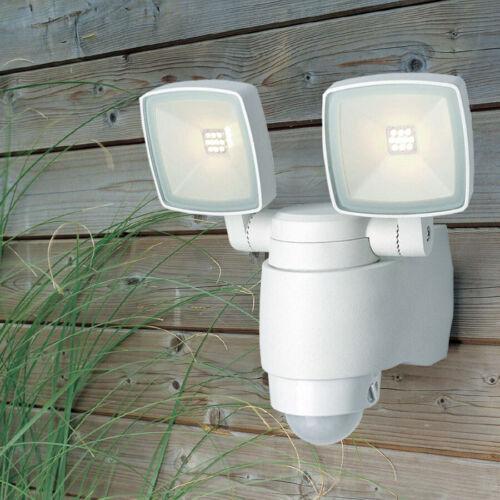 NEU LED Wandleuchte Wandlampe Aussenleuchte Strahler mit Bewegungsmelder H103216