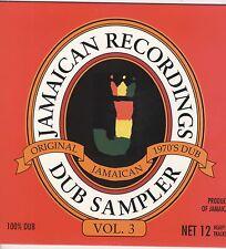 VARIOUS ARTISTS DUB SAMPLER Vol 3 NEW CD £6.99