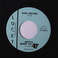OTIS LEAVILL: Gotta Right To Cry / Rise Sally Rise 45 (co, top copy!)