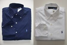 Men Polo Ralph Lauren Button-down Poplin Shirt Size S M L XL XXL - CLASSIC FIT