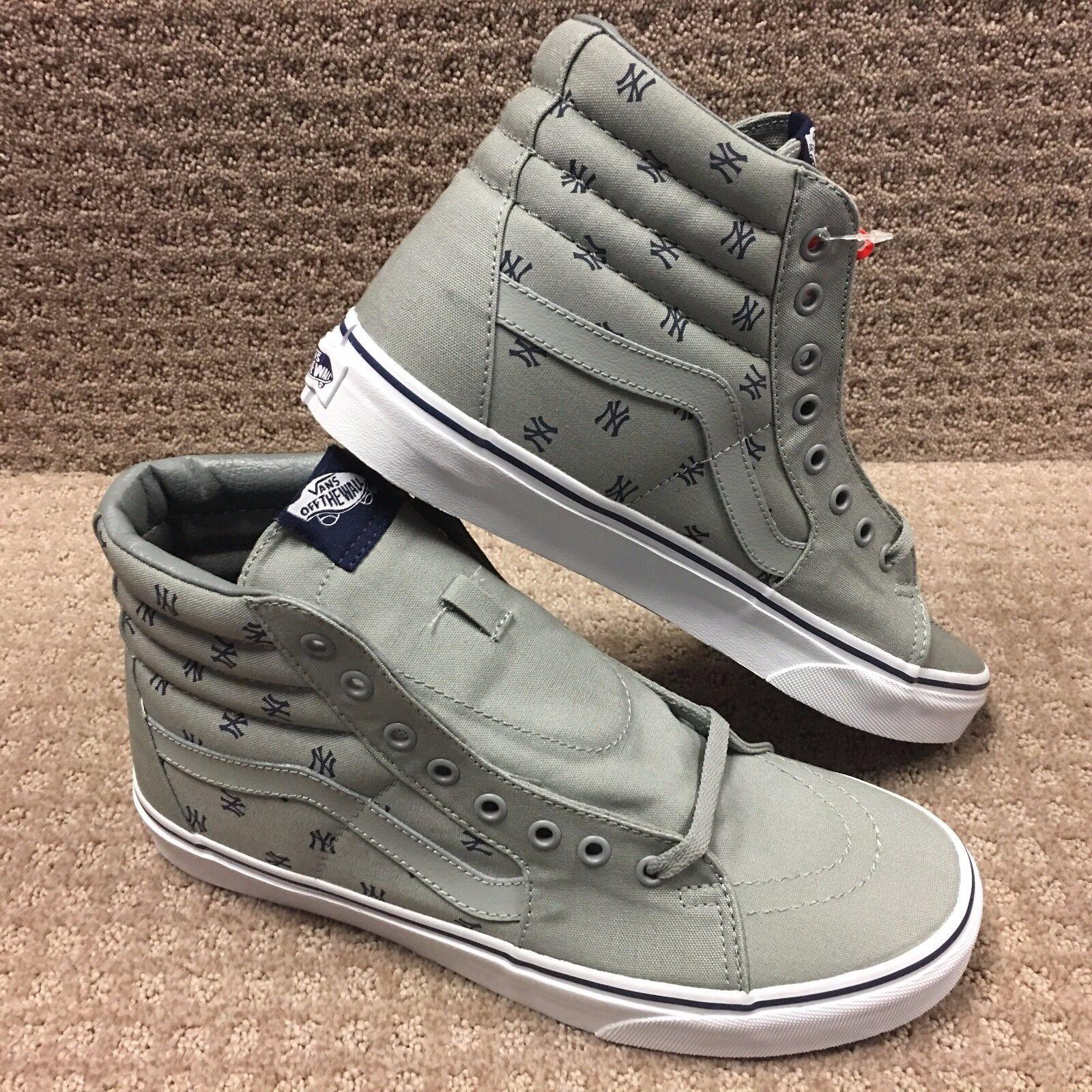 Vans Men's shoes  Sk8-Hi   -- (MLB) New York Yankes Gry