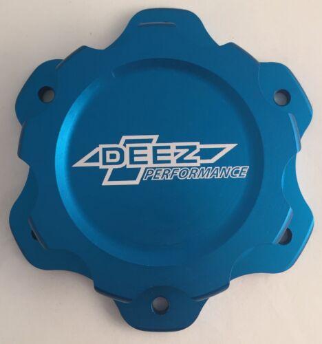 DEEZ Performance 6-Bolt Billet Aluminum Fuel Cell Cap /& Bung Assembly-Blue