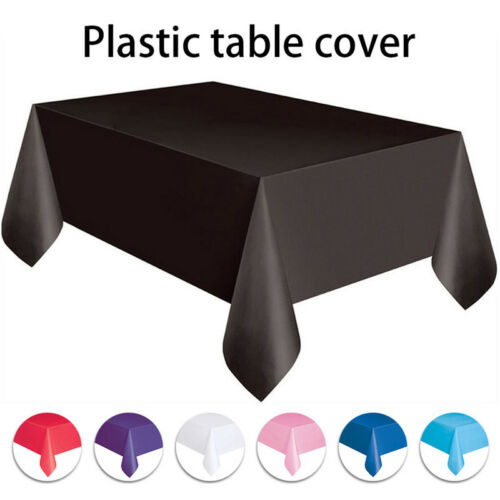 Tischdecken Wachstuch Wachstischdecke Tischtuch Rund-Eckig abwaschbar Garten Uni