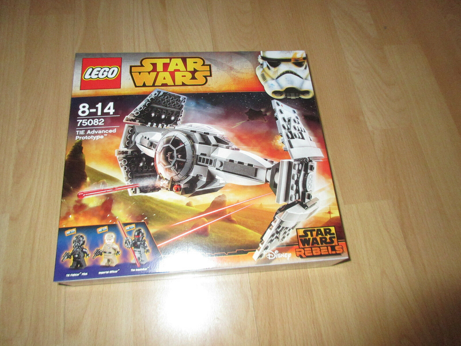LEGO Star Wars 75082 TIE Advanced Prossootype NUOVO & OVP
