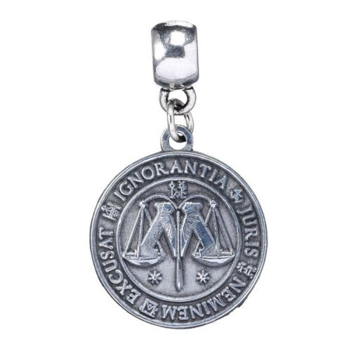 Official Harry Potter Silver Plated Ministry of Magic Symbol Slider Charm