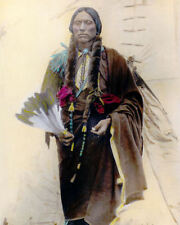 Silver Halide Photo Native American Comanche Indian Chief Quanah Parker