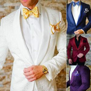 Groomsmen-Shawl-Lapel-Groom-Tuxedos-One-Button-Men-Suits-Wedding-Prom-Best-Man