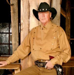Westernhemd John Wayne Style 3XL Sandfarben Übergröße AKTION Schnäppchen NEU
