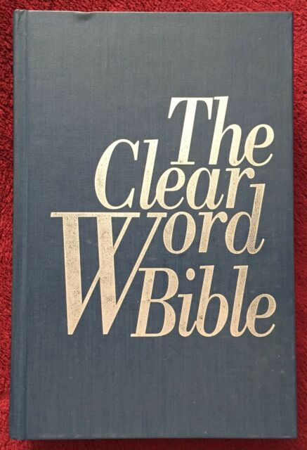 The Clear Word Bible 1994 Jack J Blanco Paraphrase Review & Herald HB 1425 Pages