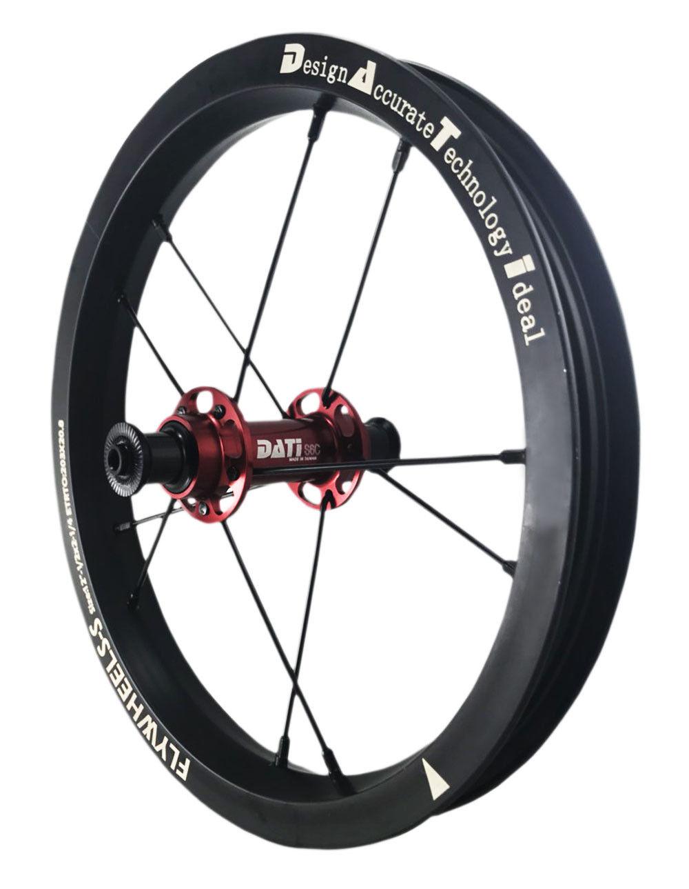 NEW DATI S6C-W  AlloyPush Kids Balance Bike Bicycle Super light  wheels Set 12