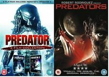Predator Trilogy DVD Complete Collection Extras + Special Features New