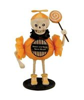 Sweet And Sour Candy Skullie Halloween Treater Figurine Bethany Lowe Skeleton