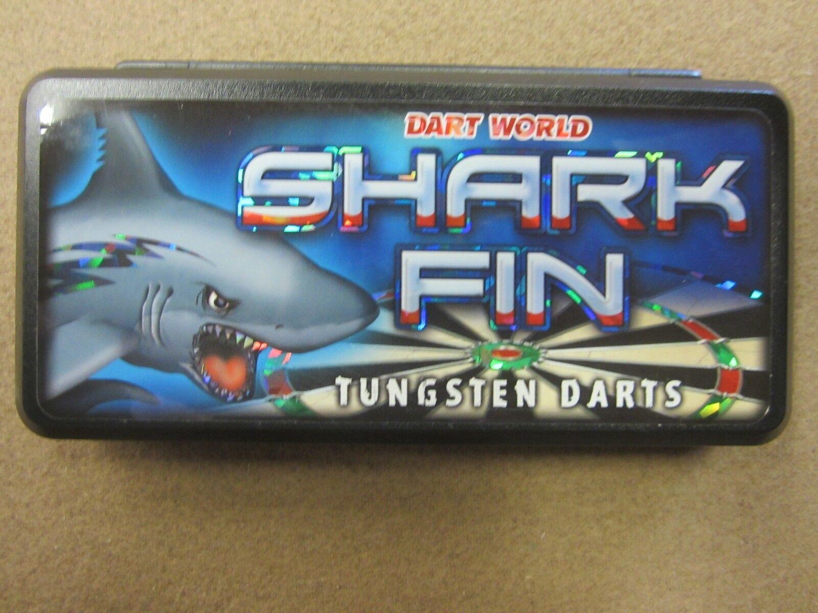 Shark Fin 28g Steel Tip Darts 80% 17206 Tungsten 17206 80% w/ FREE Shipping & Case ec4fa6