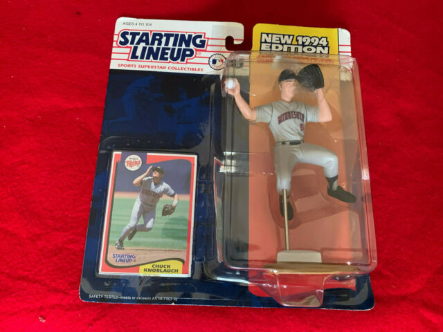 1994 Starting Lineup Chuck Knoblaugh Minnesota Twins Mlb Slu New Free Shipping