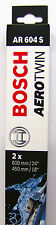 BOSCH spazzola tergicristallo 3397118908 ANTERIORE AR604S 600/450mm CHEVROLET