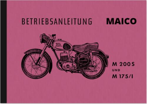 Anleitungen & Handbcher Maico M 175/1 200 S Bedienungsanleitung ...