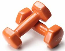 Comfort Grip Dumbbells 5 Pound Set Fitness Cardio For Living Room
