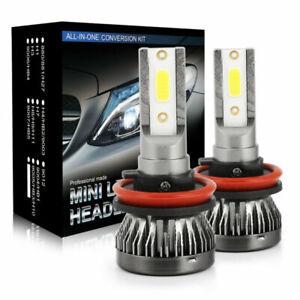 Pair-H11-CREE-LED-Headlight-Car-H8-H9-180W-6500K-Replace-Hi-Lo-Beam-Bulb-Lamp