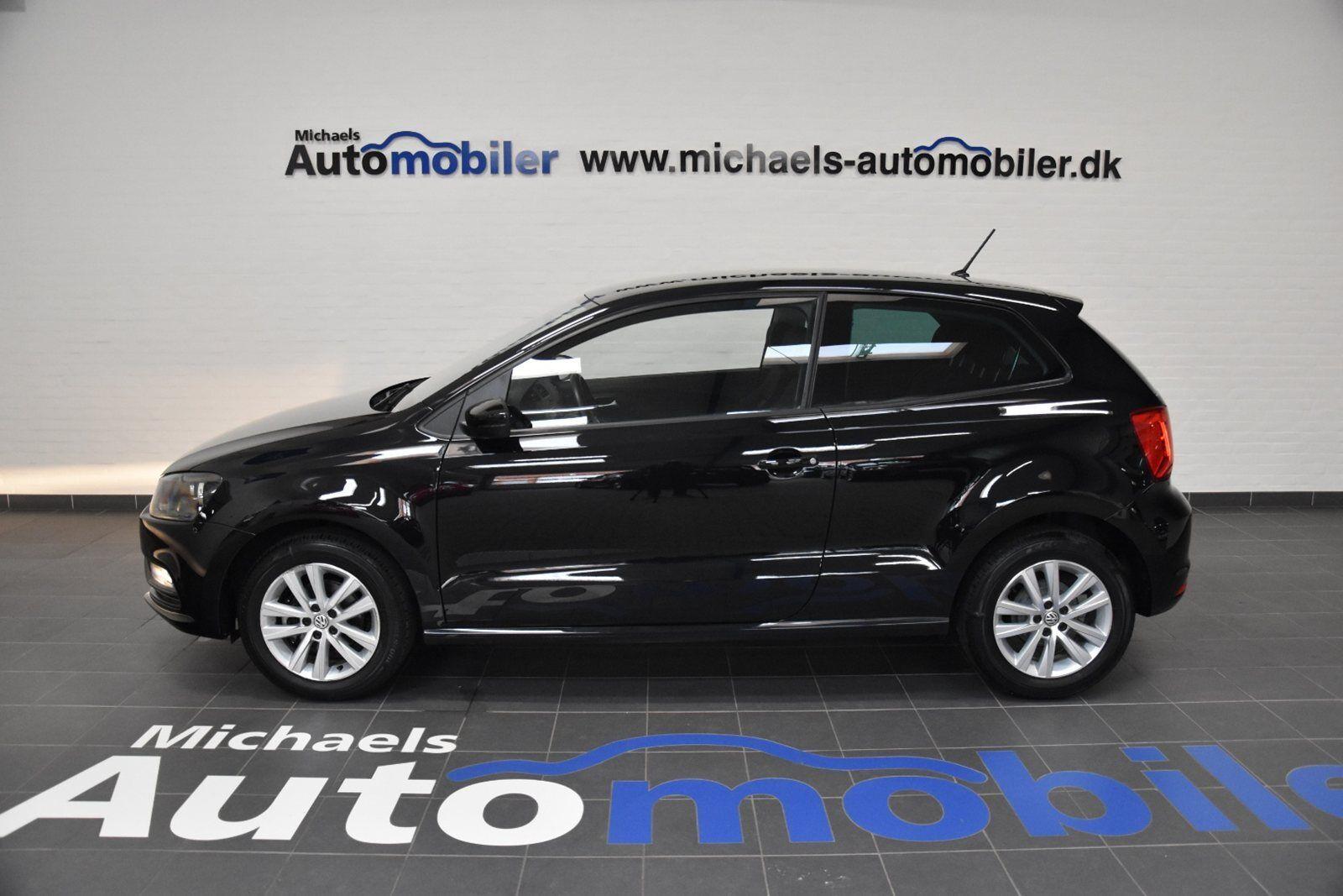 VW Polo 1,0 60 Trendline BMT 3d - 143.500 kr.