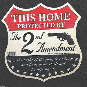 034-This-Home-Protected-by-the-Second-Amendment-034-Decorative-Sign