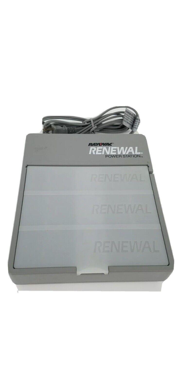 Rayovac Renewal Power Station PS2 for AA-AAA-C-D Renewal Rayovac Batteries