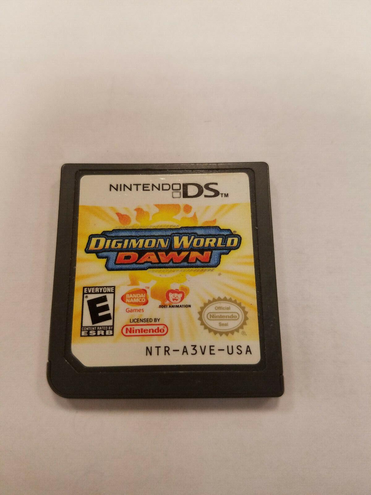 Digimon World: Dawn (Nintendo DS, 2007) on digimon world dawn action replay codes, digimon world dawn artwork, digimon world dawn review, digimon world dawn sprites, digimon world dawn guide,